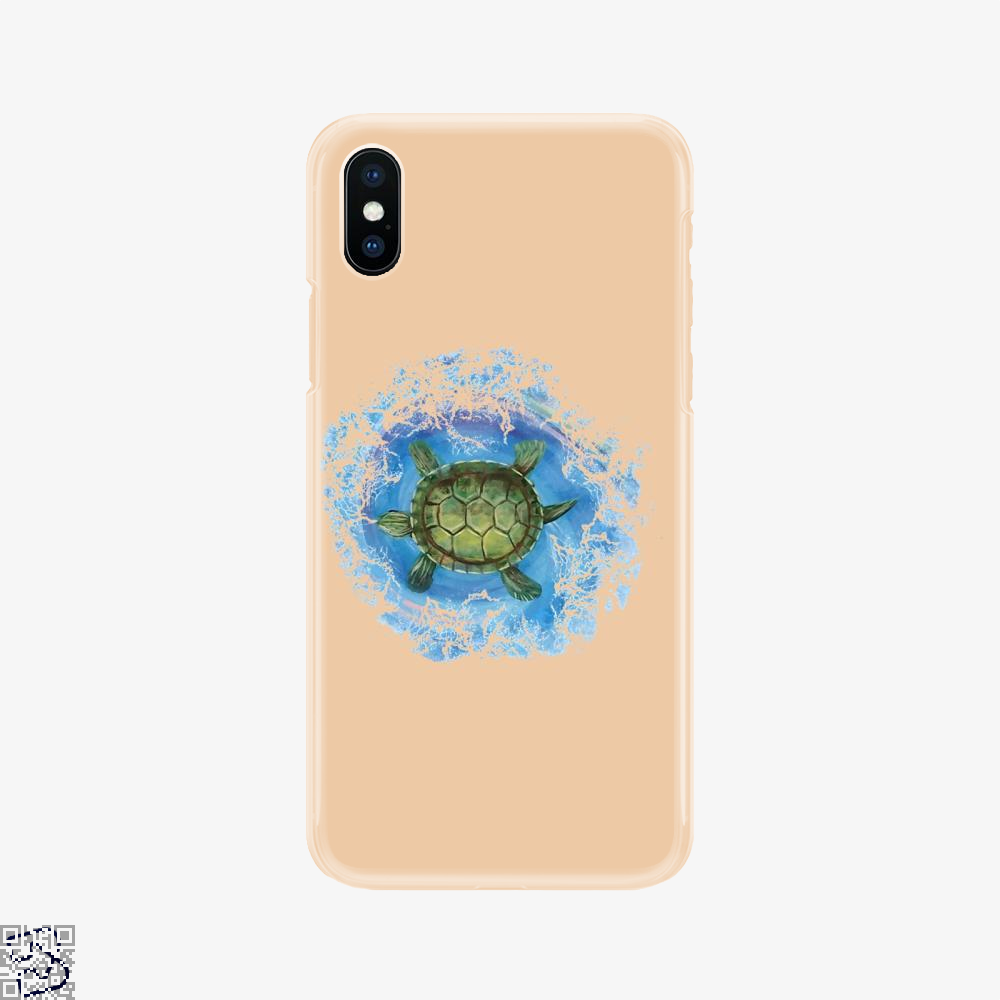 Twisted Turtle , Kamloopsartparty Phone Case