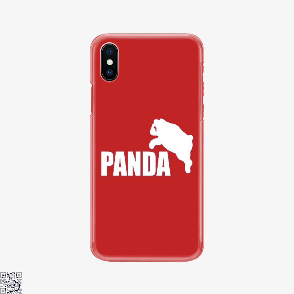Funny Panda Bear, Panda Phone Case
