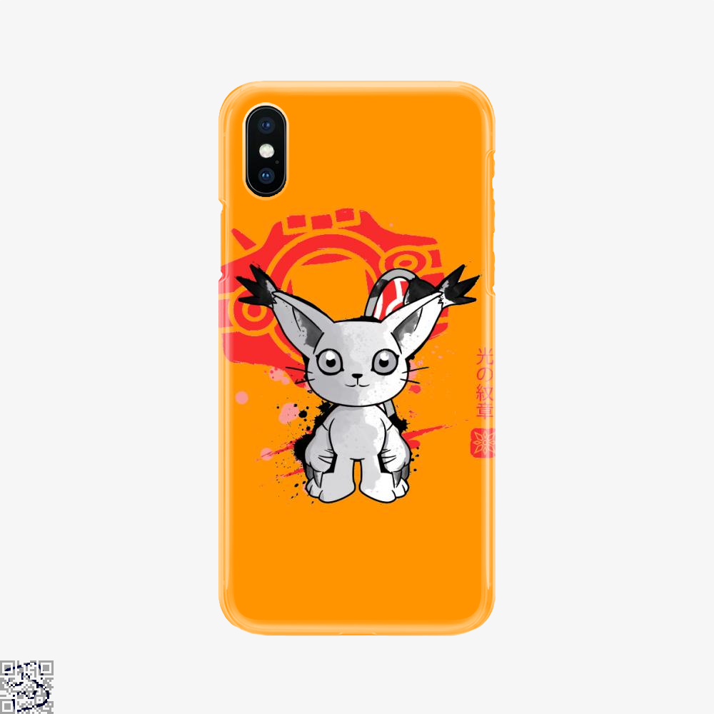 Gatomon Seal Of Light 光の紋章, Digimon Phone Case