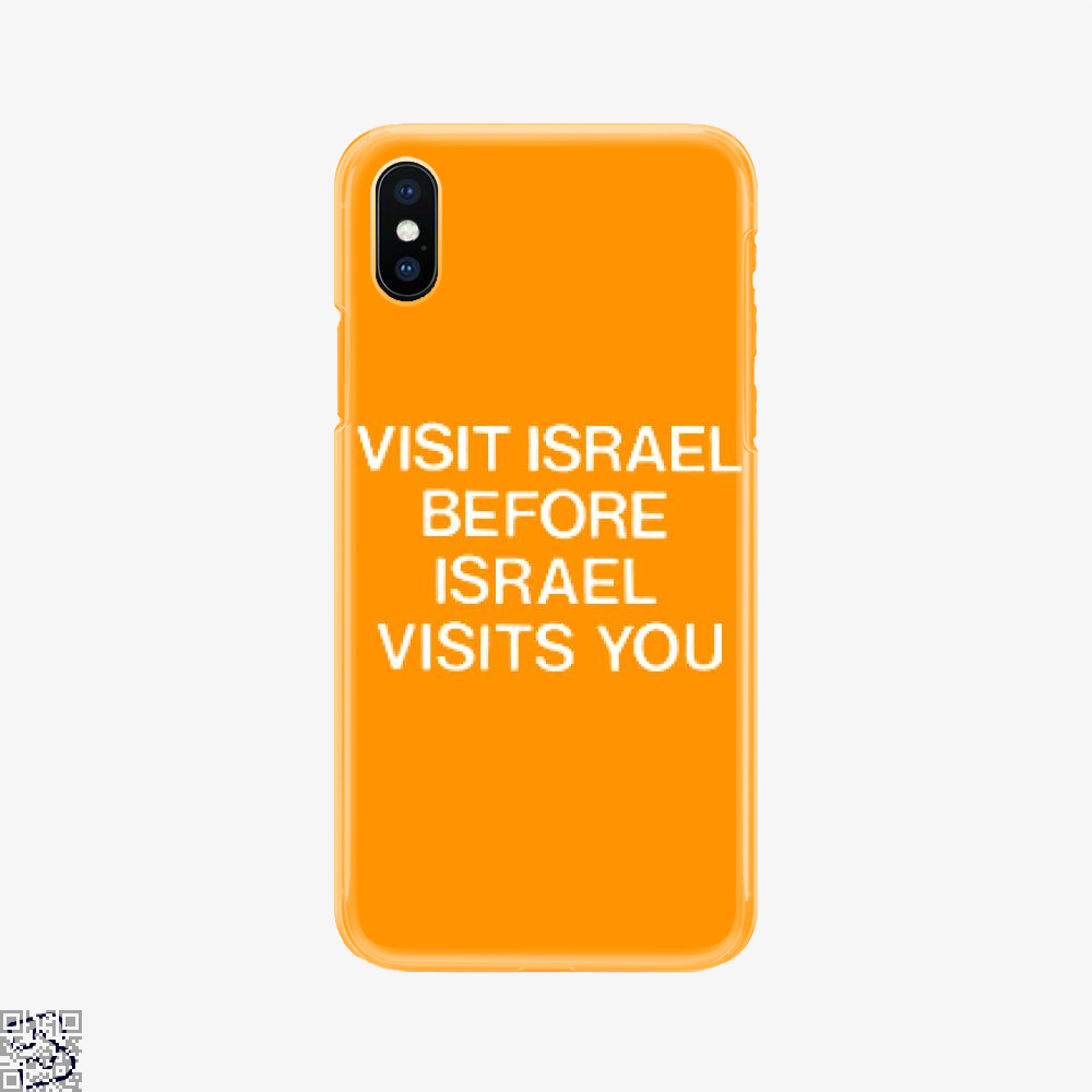 Visit Israel, Deadpan Phone Case