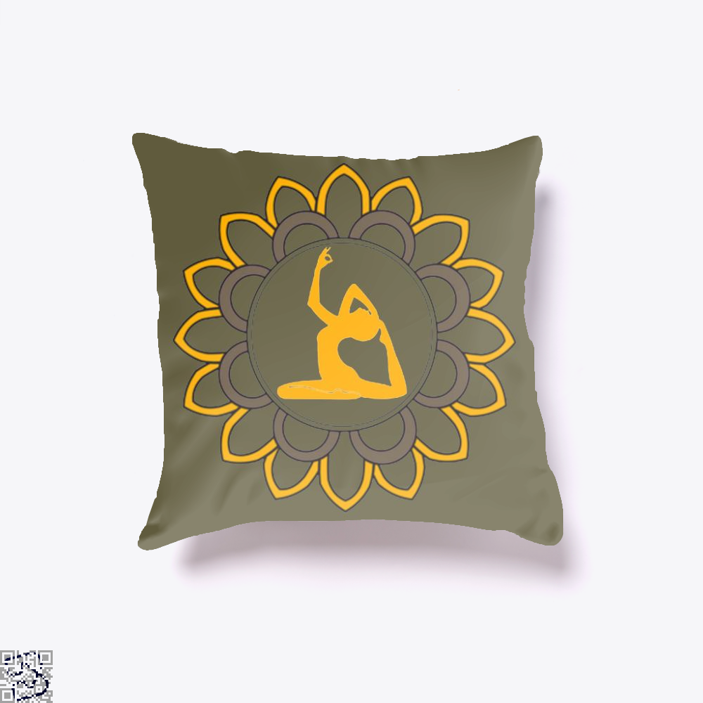 Yoga Is A Way Of Life Balancing Body And Mind, Yoga Throw Pillow Cover