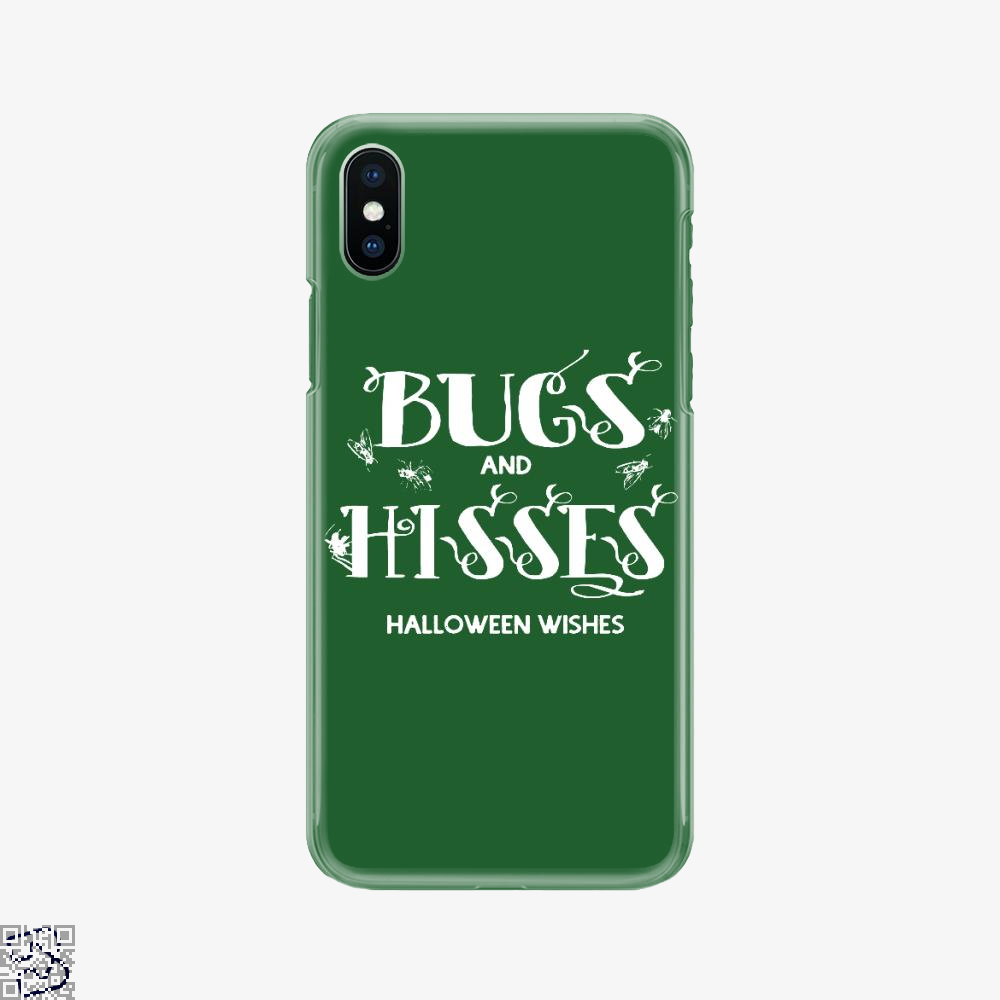 Bugs And Hisses Halloween Wishes, Halloween Phone Case