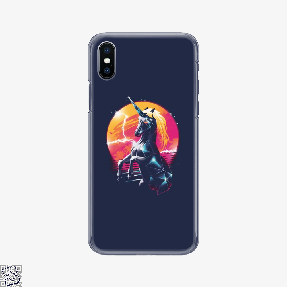 Rad Unicorn, Horse Phone Case