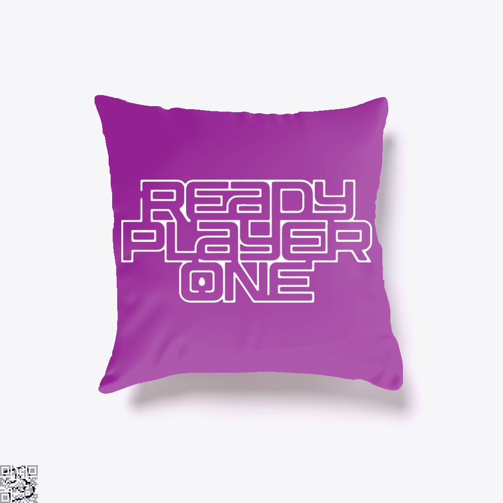 Readyplayer One, Ready Player One Throw Pillow Cover