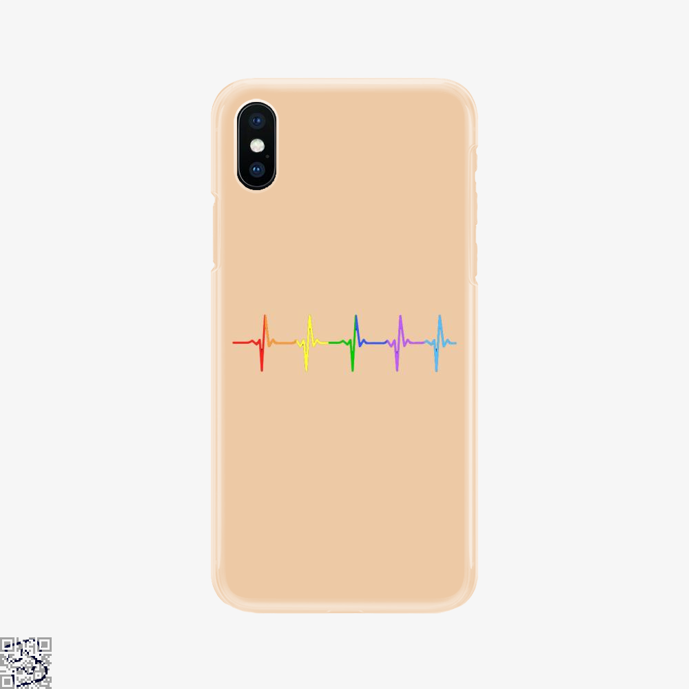 Gay Pride Lgbt Heartbeat Pulse, Lgbt Phone Case