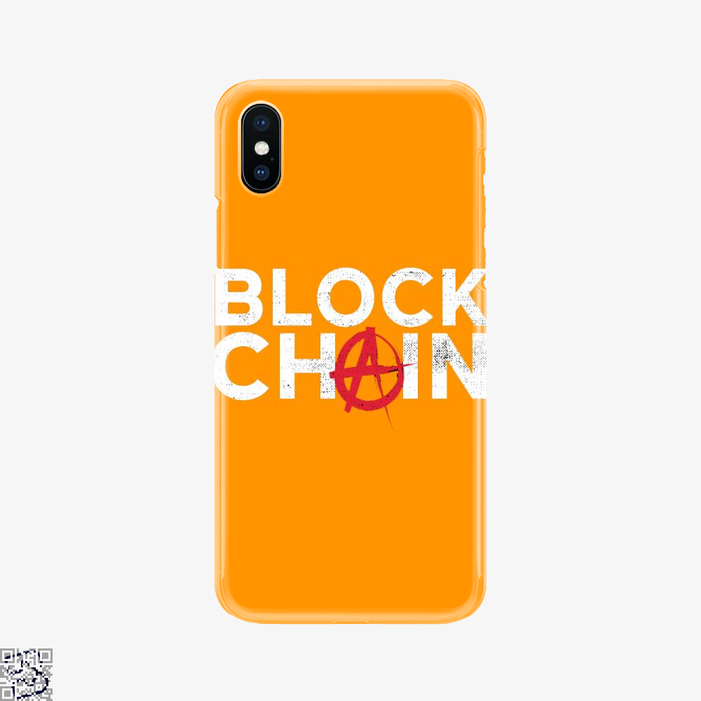 Blockchain, Bitcoin Phone Case