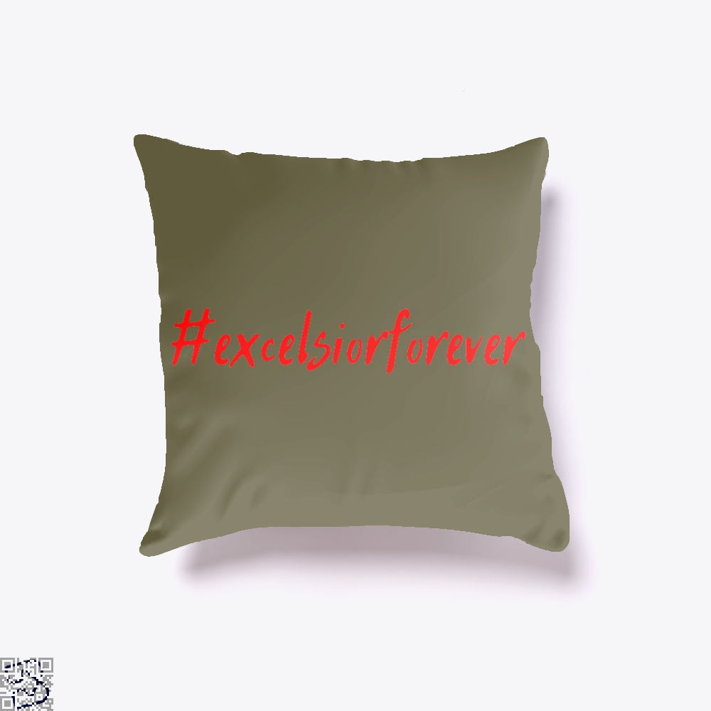 Excelsior Forever Stan Lee, Stan Lee Throw Pillow Cover