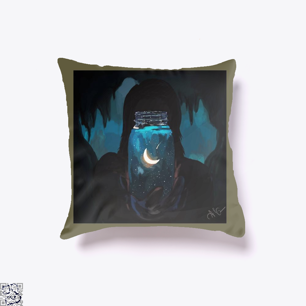Believe In Yourself, Aathira Mohan Throw Pillow Cover