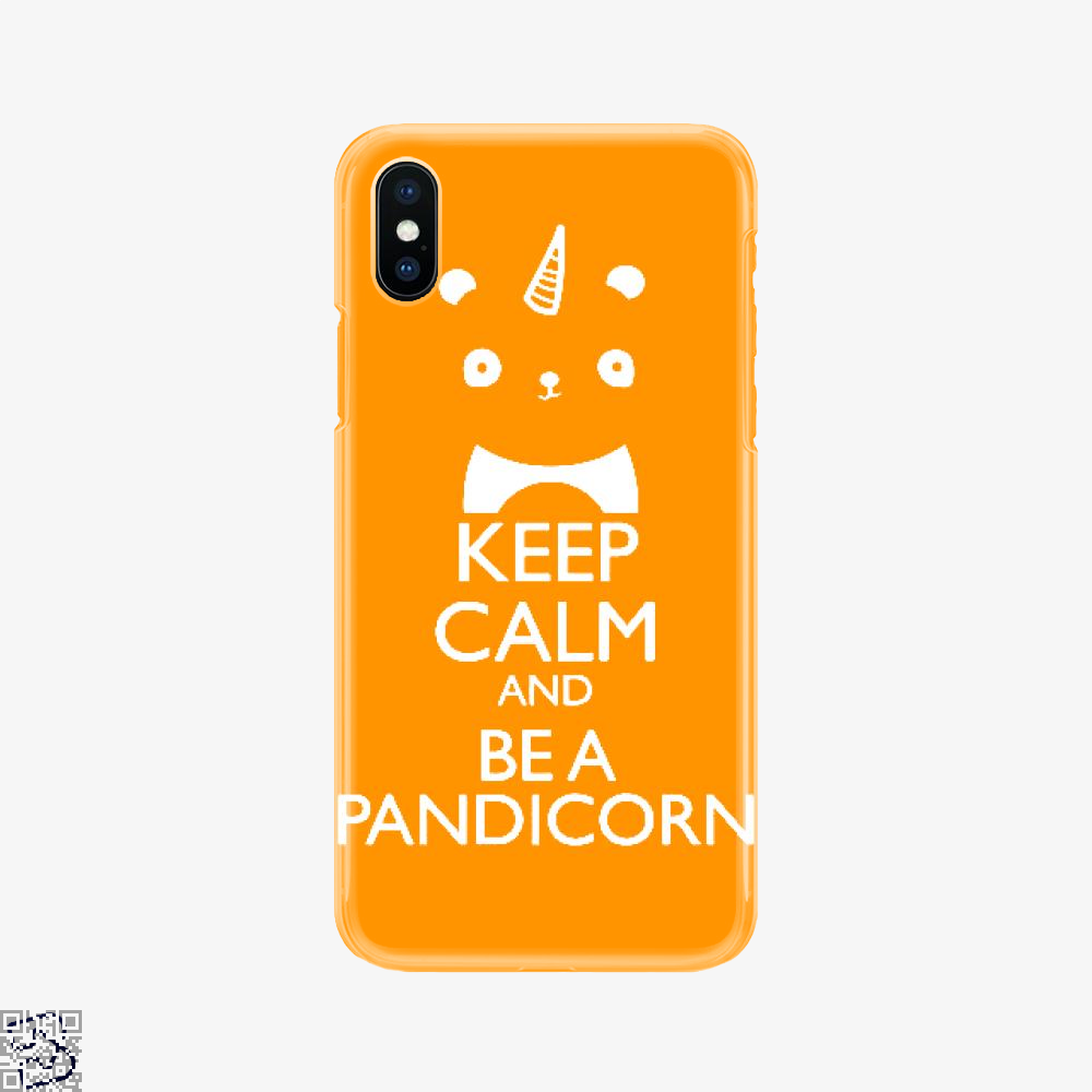 Keep Calm And Be A Pandicorn, Panda Phone Case