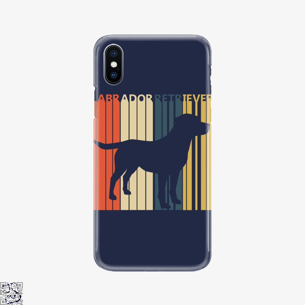Vintage 1970s Labrador Retriever Dog Owner Gift, Labrador Retriever Phone Case