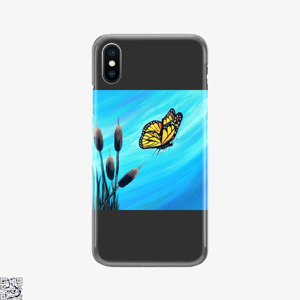 Monarch, Kamloopsartparty Phone Case