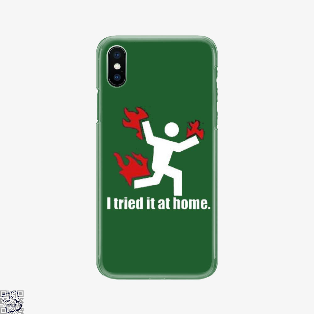 I Tried It At Home, Hyperbolic Phone Case