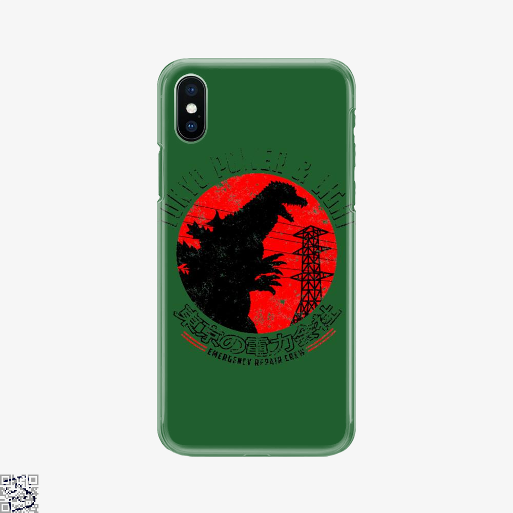 Tokyo Power And Light, Godzilla Phone Case