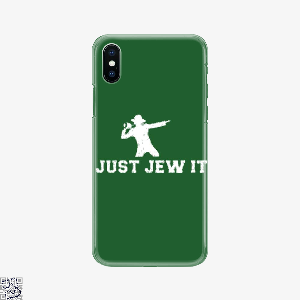 Michael Jackson Just Jew It, Parodic Phone Case