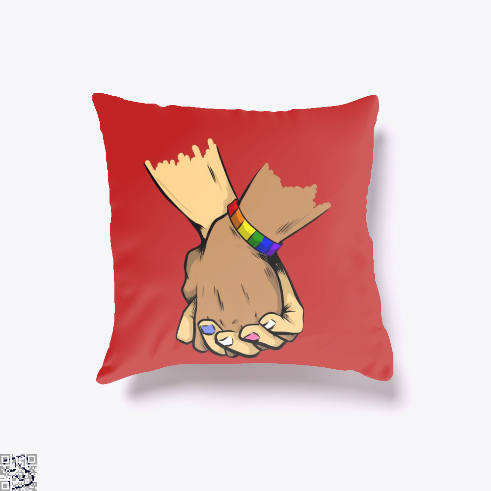 Stronger Together, Lgbt Throw Pillow Cover