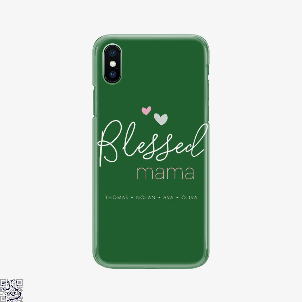 Blessed Mama, Mother's Day Phone Case