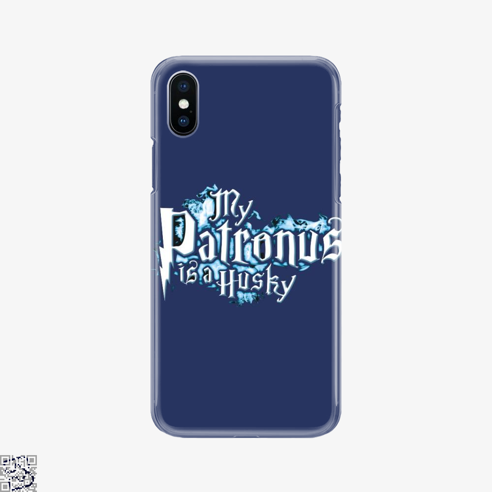 My Patronus Is A Husky, Husky Phone Case