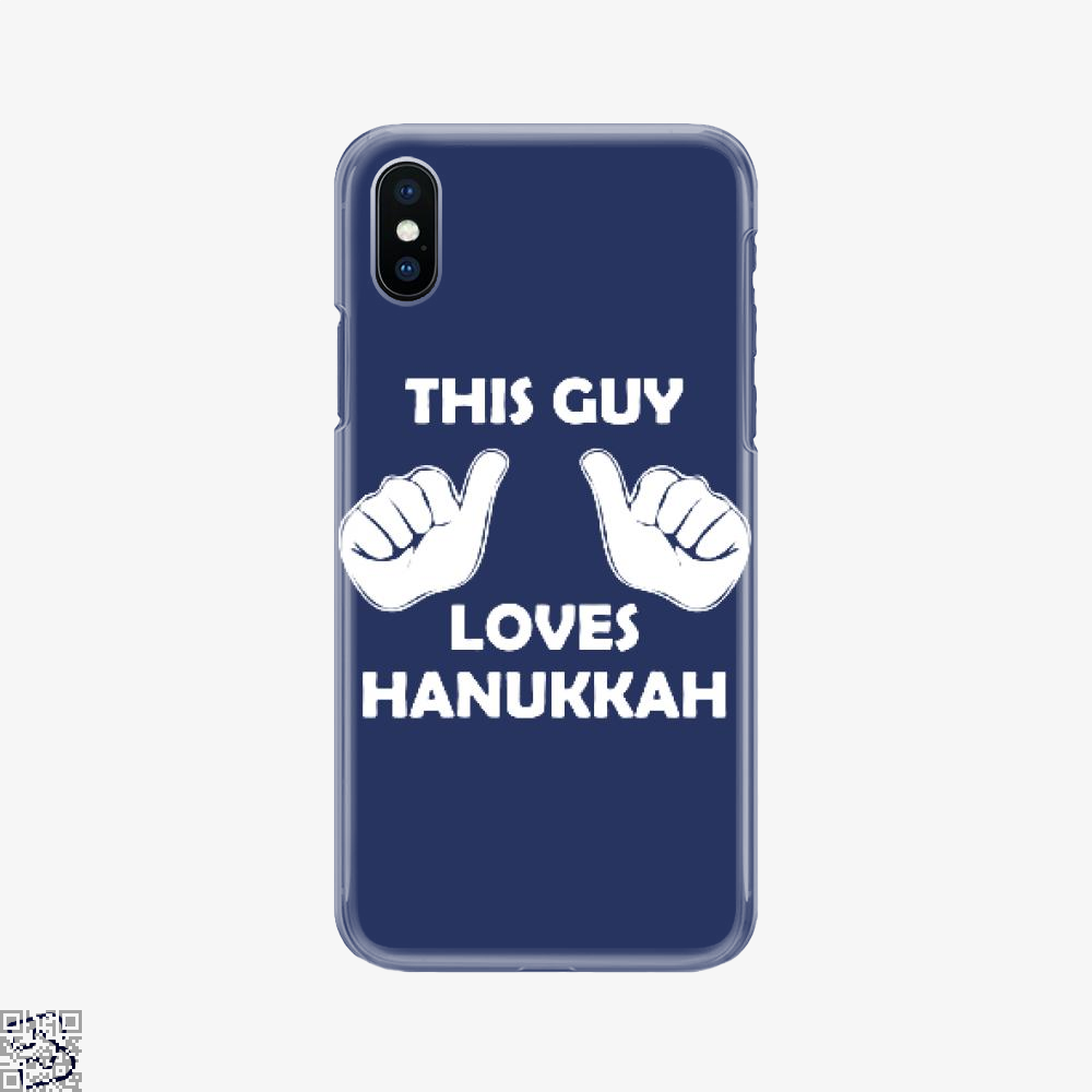This Guy Loves Hanukkah, Deadpan Phone Case