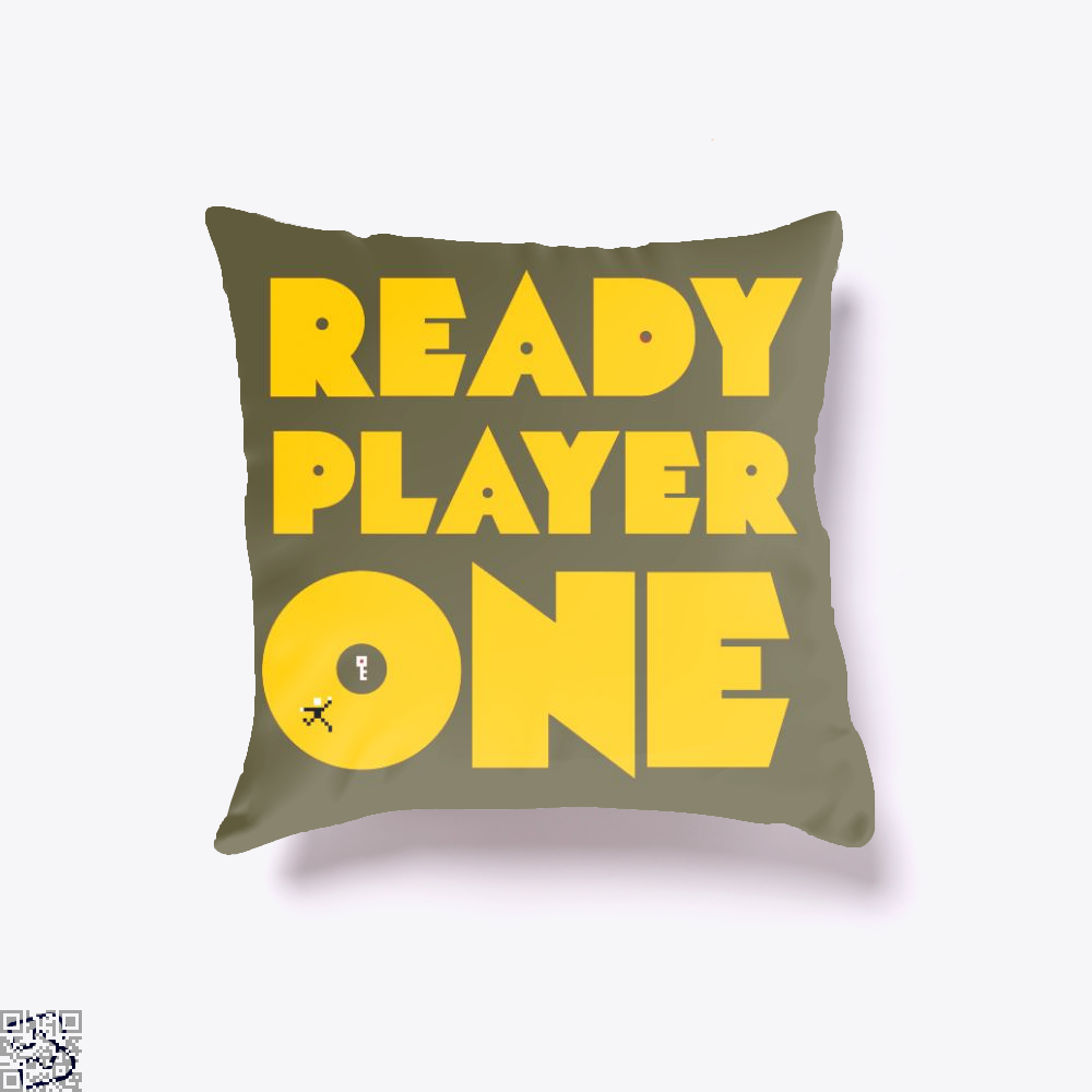 Ready Player One, Ready Player One Throw Pillow Cover