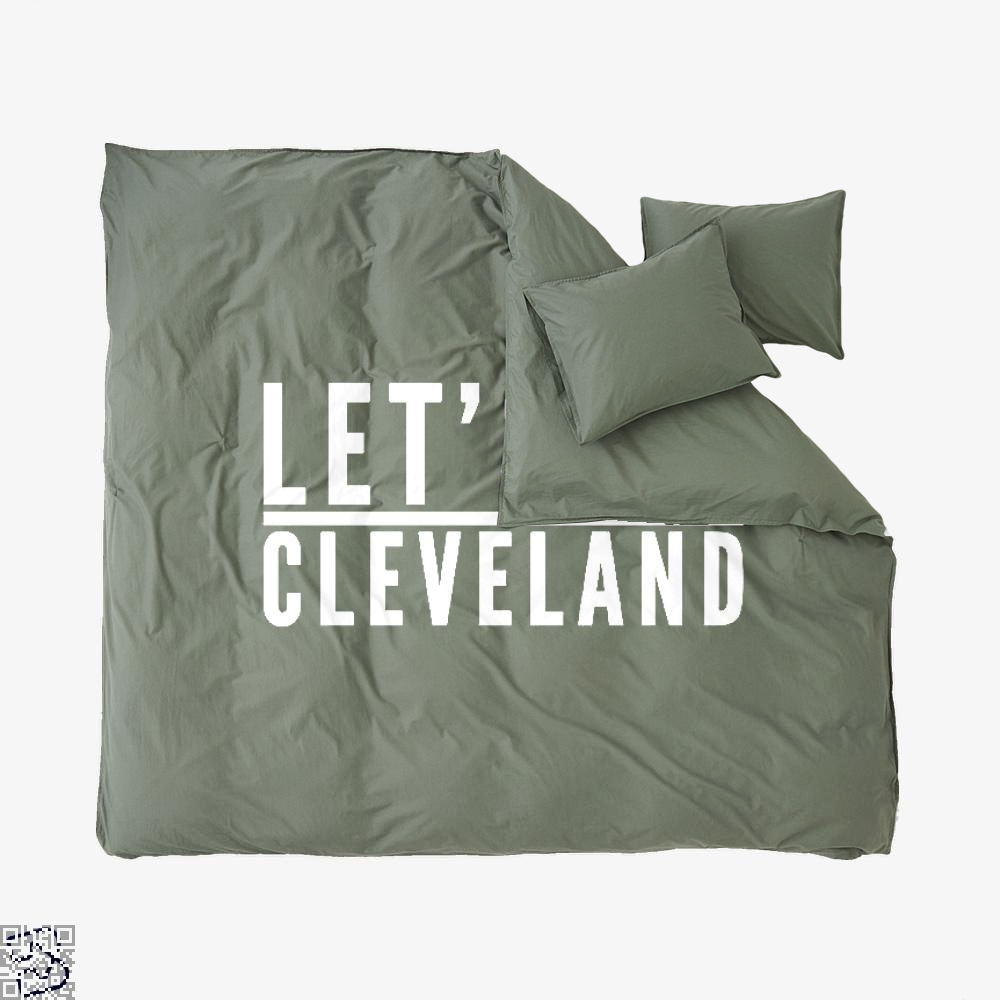 Let's Go Cleveland, Cavs Duvet Cover Set