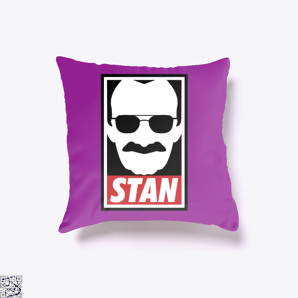 Stan, Stan Lee Throw Pillow Cover