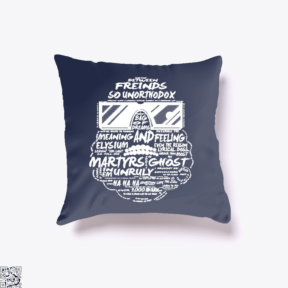 Between Friends, Captain Marvel Throw Pillow Cover