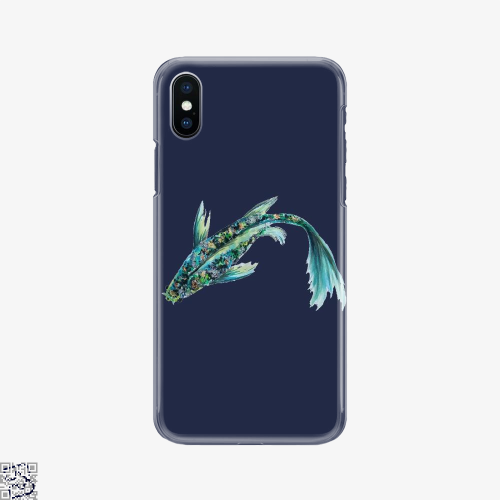 Watercolor Koi, Kamloopsartparty Phone Case