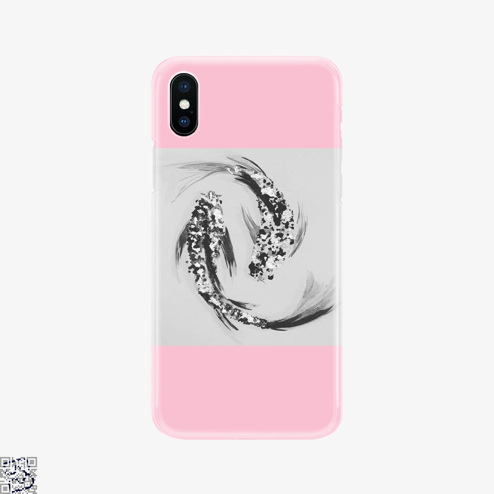Koi, Schmidtfacedartistry Phone Case