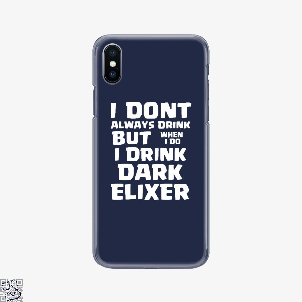 Dark Elixer, Clash Of Clans Phone Case