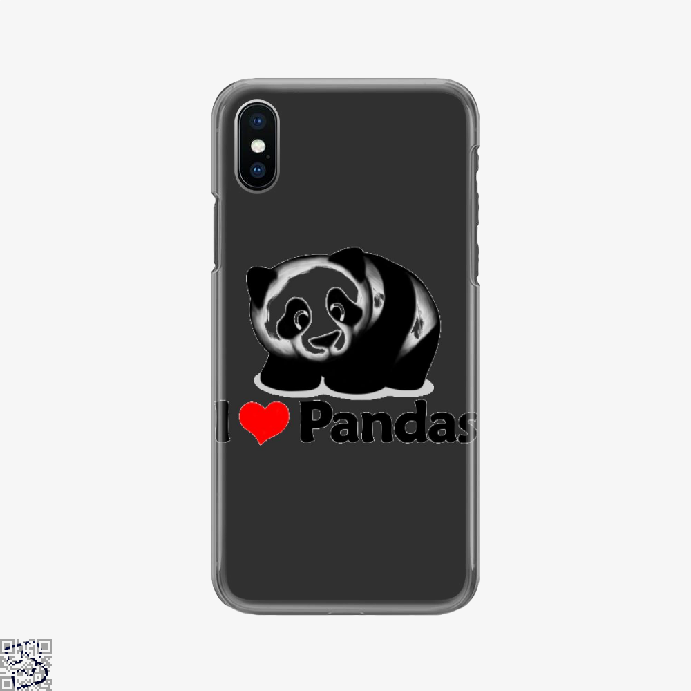 I Love Pandas, Panda Phone Case
