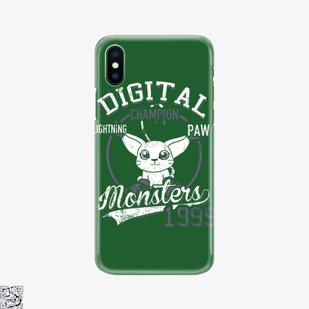 Gatomon Digital Monster 1999, Digimon Phone Case