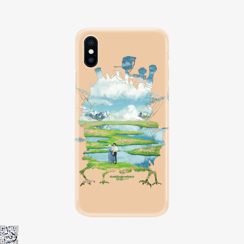 Sophie And Howl On The Alps Because Miyazakis Backgrounds Are Beautiful, Howl's Moving Castle Phone Case