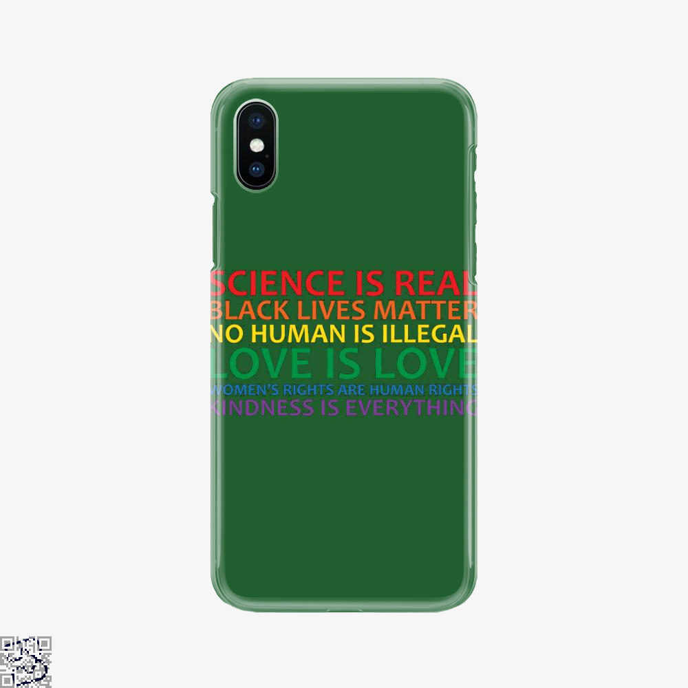 Human Rights World Truths, Feminism Phone Case