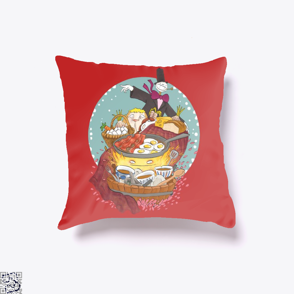 May None Of Your Bacon Burn, Howl's Moving Castle Throw Pillow Cover