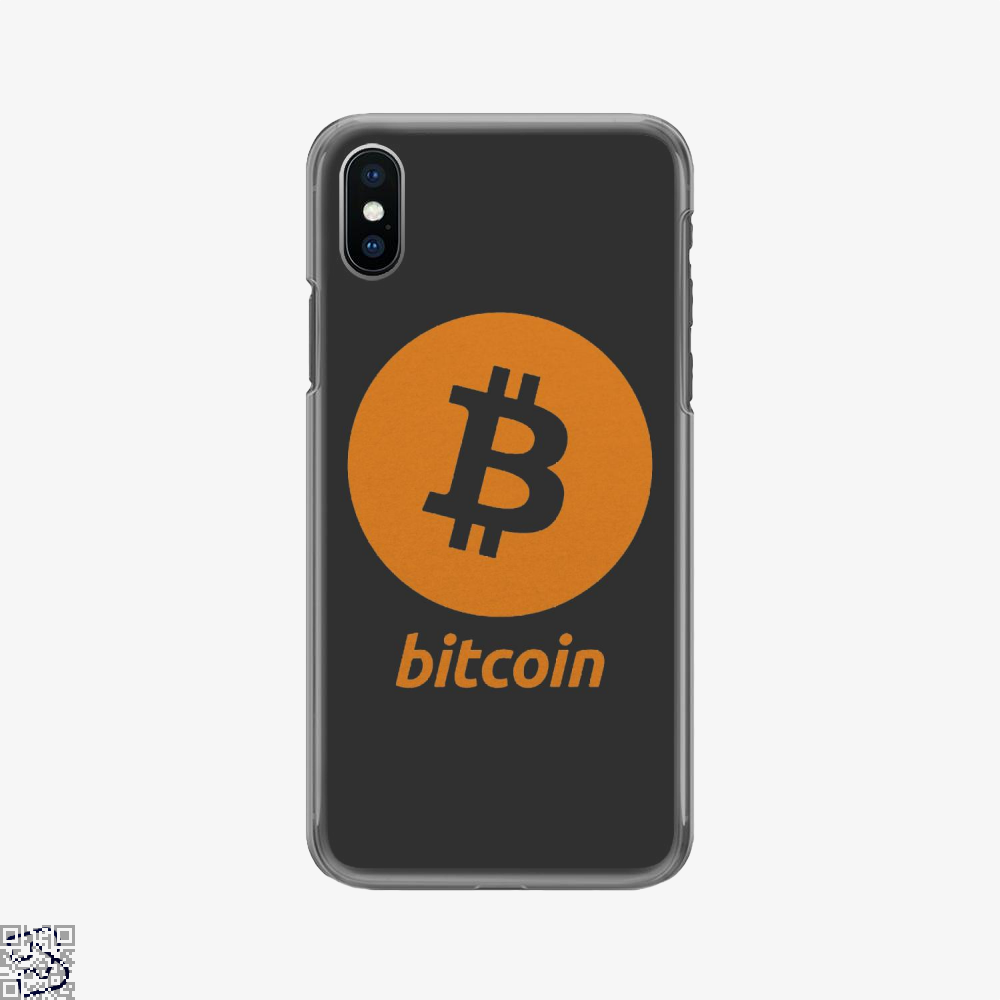 Bitcoin Logo, Cryptocurrency Phone Case