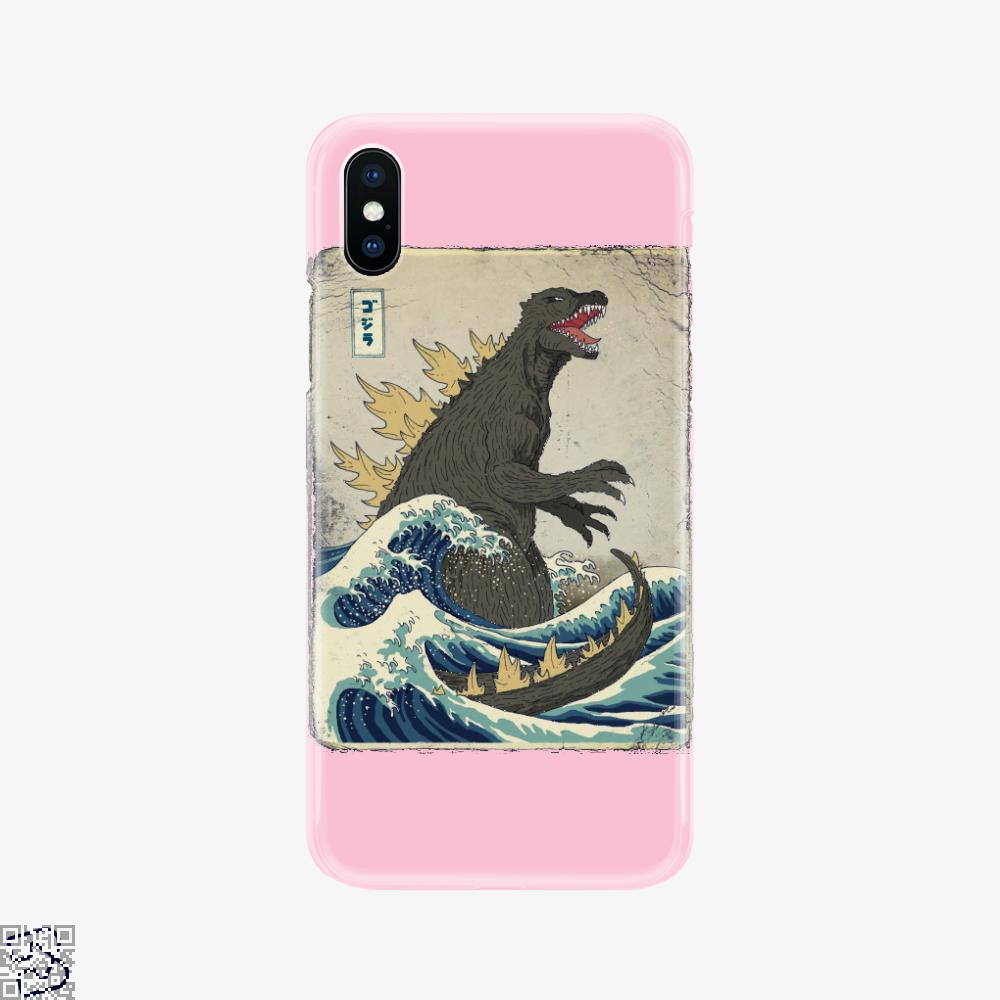 The Great Godzilla Off Kanagawa, Godzilla Phone Case
