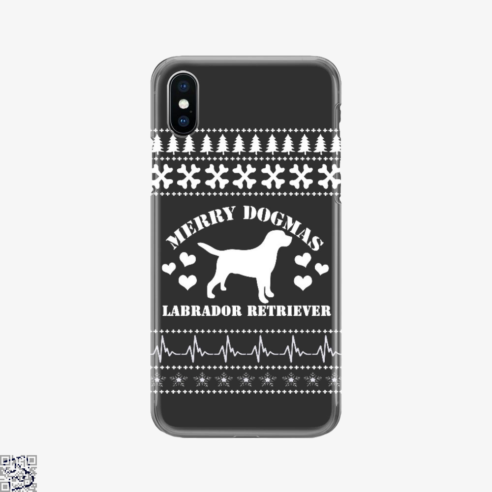 Merry Dogmas Labrador Retriever, Labrador Retriever Phone Case