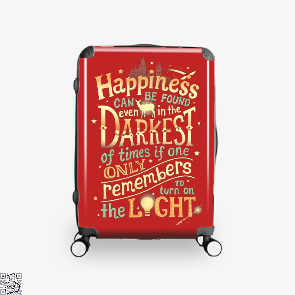 Happiness Harry Potter Suitcase - Red / 16 - Productgenjpg
