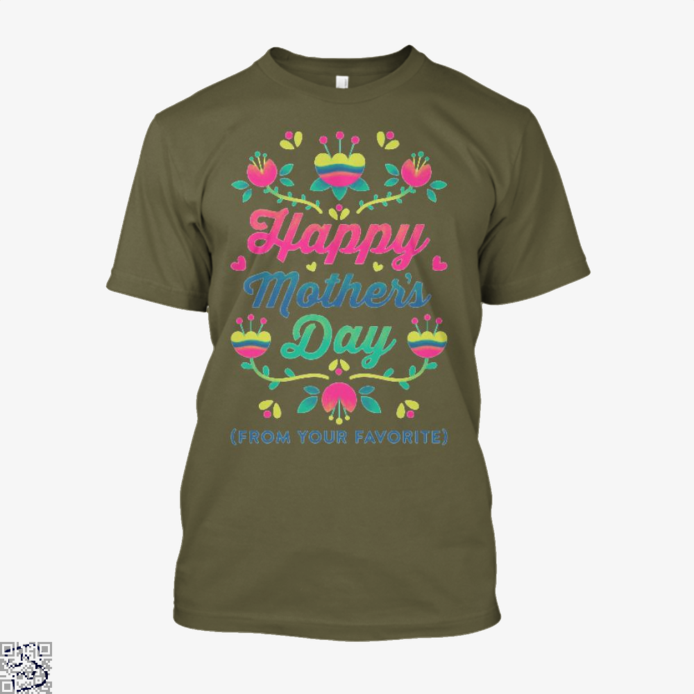 Happy Mothers Day (From Your Favorite) Shirt - Men / Brown / X-Small - Productgenjpg