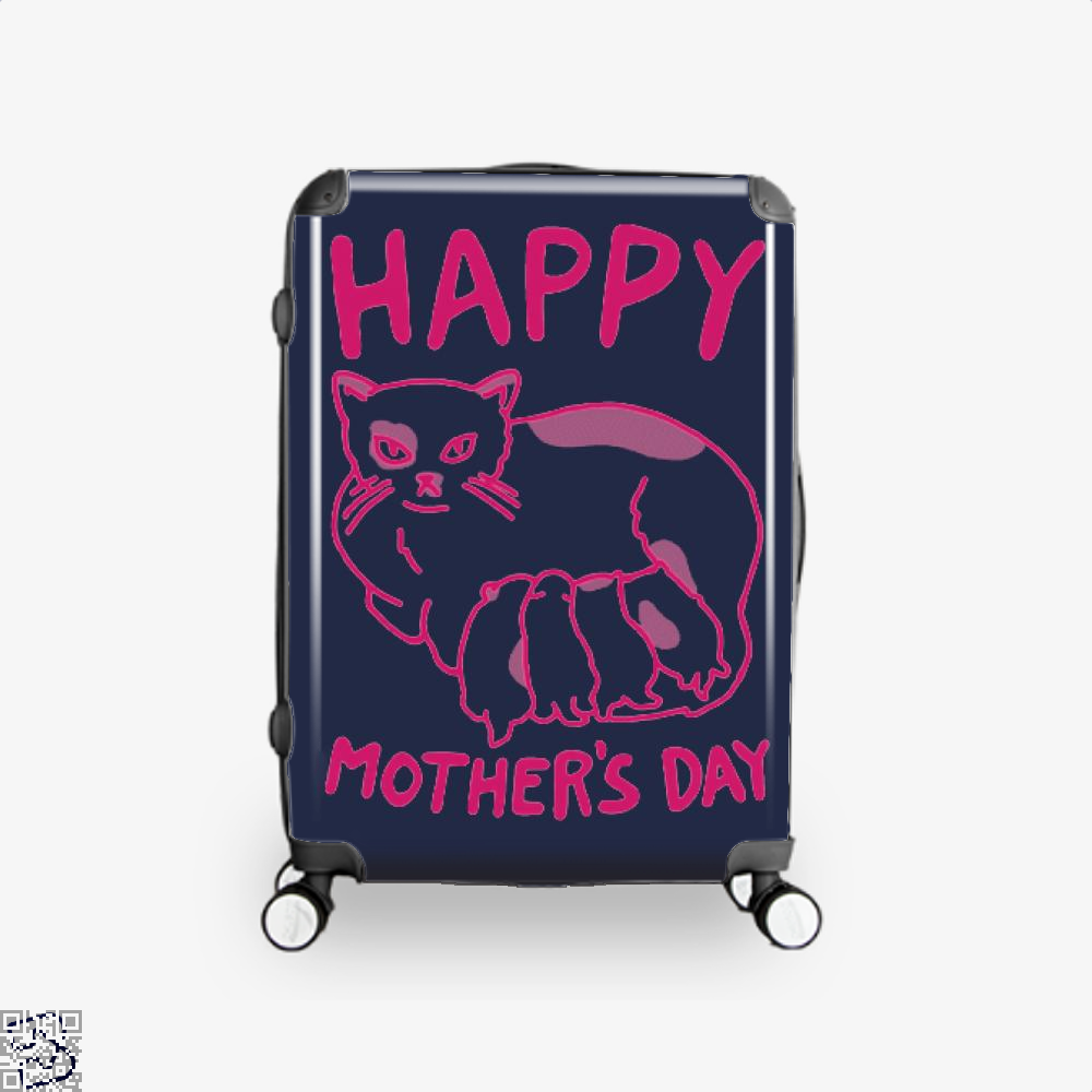 Happy Mothers Day Suitcase - Blue / 16 - Productgenjpg