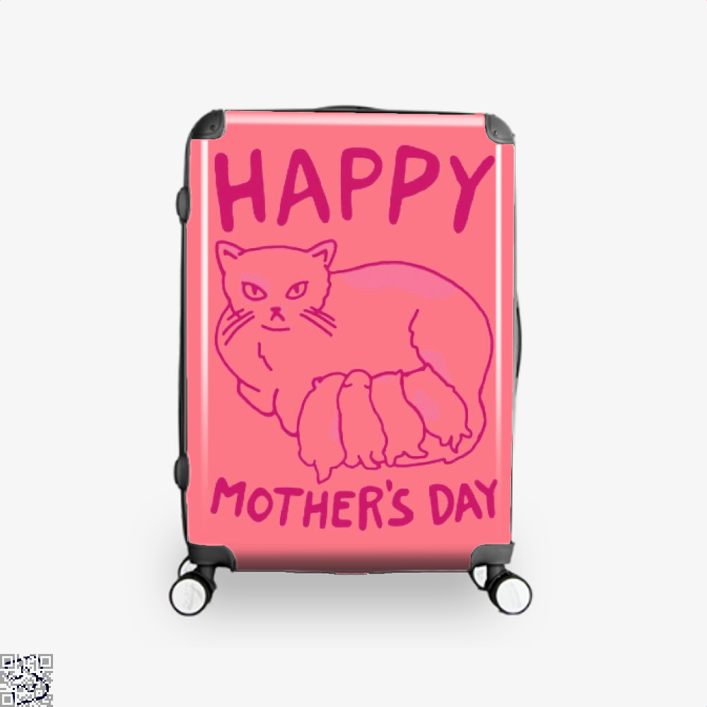 Happy Mothers Day Suitcase - Pink / 16 - Productgenjpg