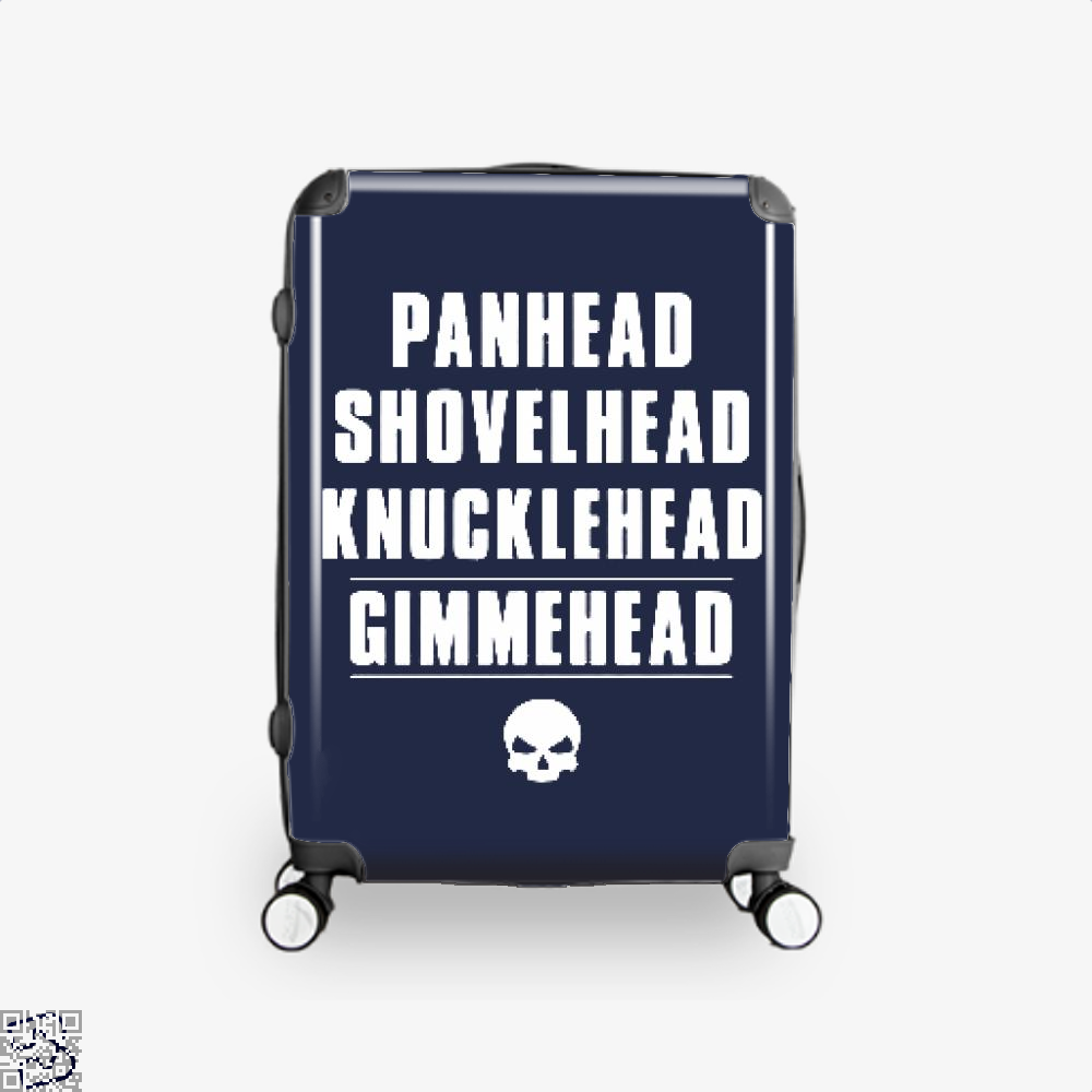 Harley Davidson Satirical Suitcase - Blue / 16 - Productgenjpg