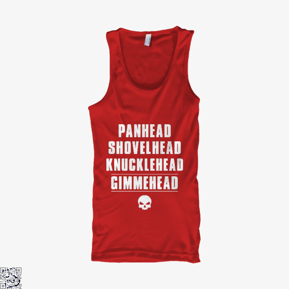 Harley Davidson Satirical Tank Top - Women / Red / X-Small - Productgenjpg