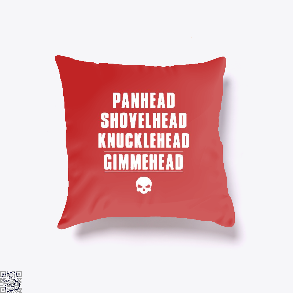 Harley Davidson Satirical Throw Pillow Cover - Productgenjpg