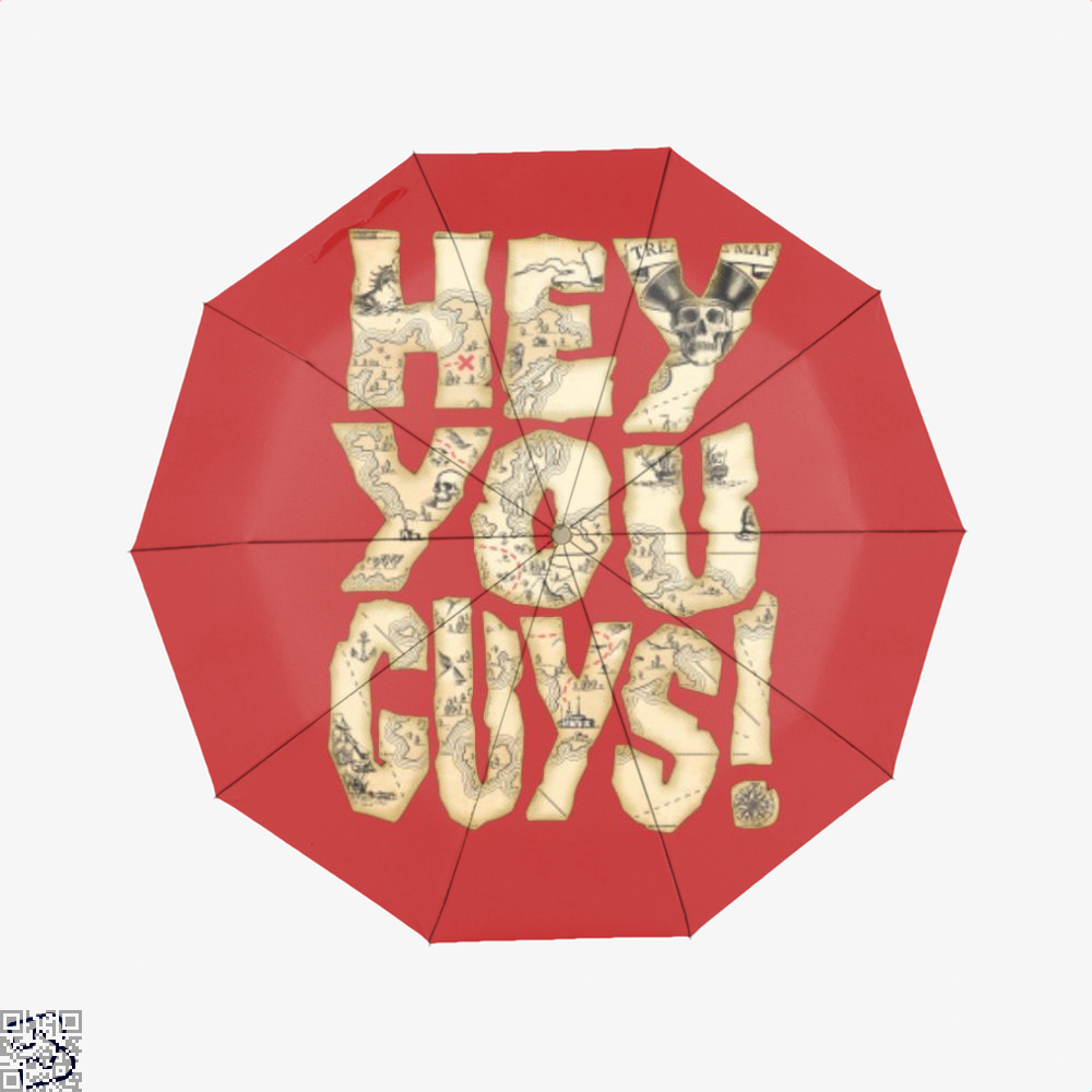 Hey You Guys The Goonies Umbrella - Red - Productgenapi