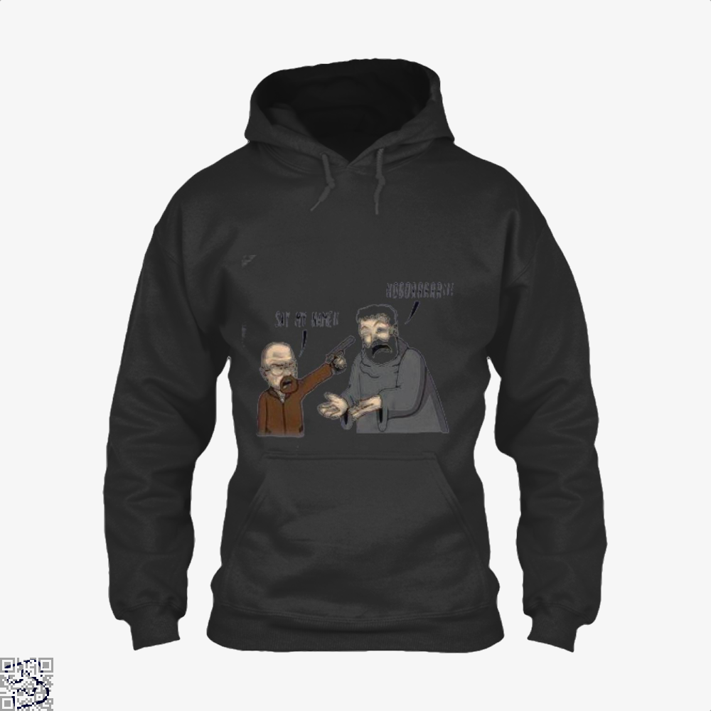 Hodor X Heisenberg Game Of Thrones Hoodie - Black / X-Small - Productgenjpg