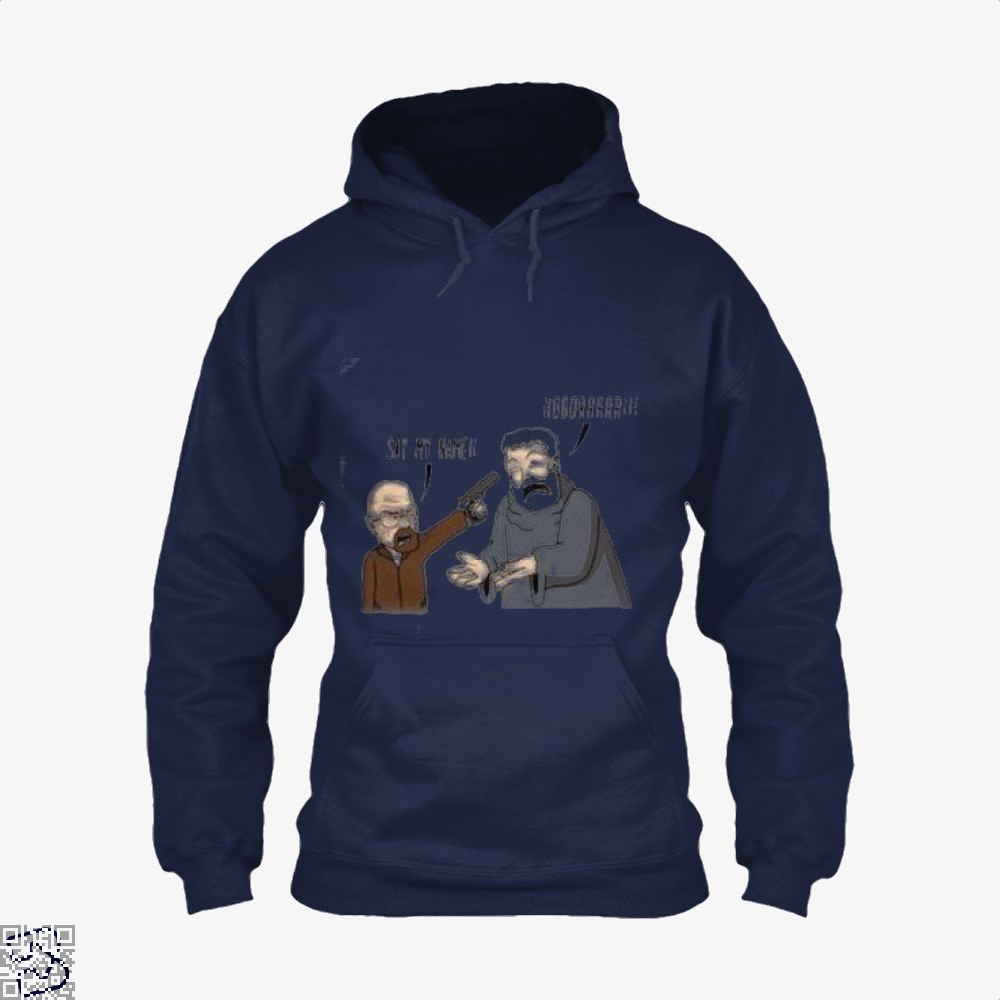 Hodor X Heisenberg Game Of Thrones Hoodie - Blue / X-Small - Productgenjpg