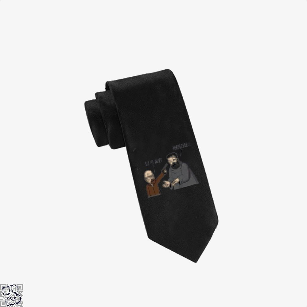 Hodor X Heisenberg Game Of Thrones Tie - Black - Productgenjpg