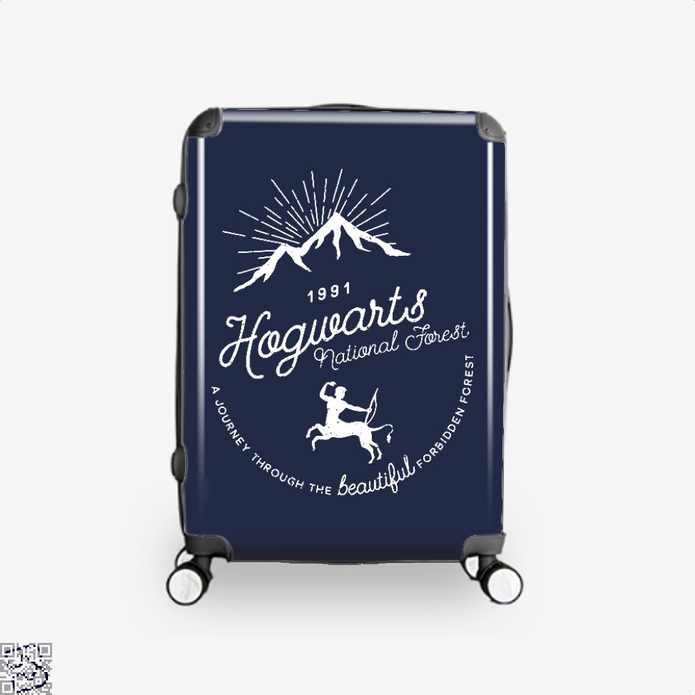 Hogwarts National Forest Varient Harry Potter Suitcase - Blue / 16 - Productgenjpg