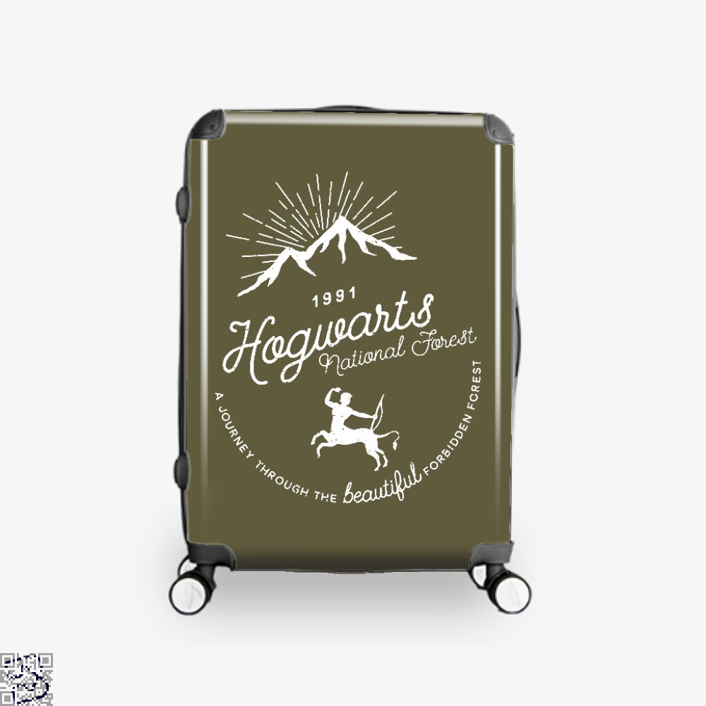 Hogwarts National Forest Varient Harry Potter Suitcase - Brown / 16 - Productgenjpg